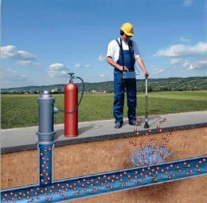 gas tracciante